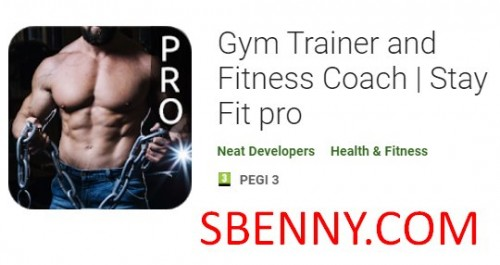 Gym Trainer e Fitness Coach - Stay Fit pro