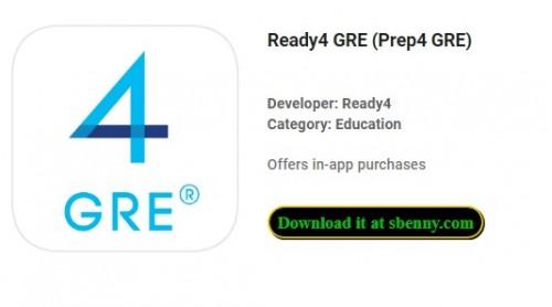 Ready4 GRE (Prep4 GRE) + MOD