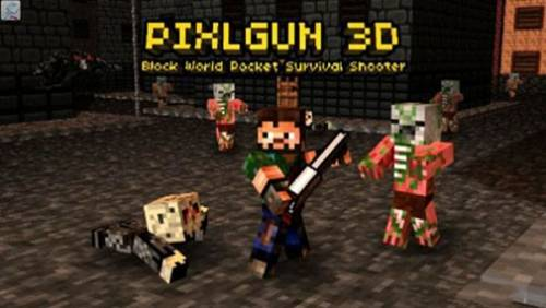 Pixel Gun 3D (Pocket Edition) + MOD