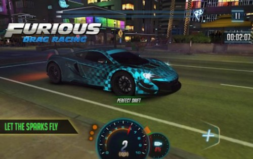 Furious 8 Drag Racing - o novo Drag Racing + MOD do 2018