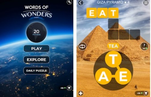Words of Wonders: Crucigrama para conectar el vocabulario + MOD