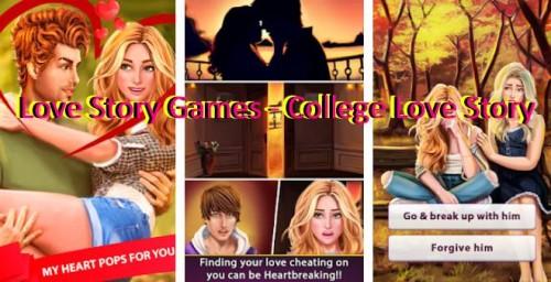 Juegos de Love Story - College Love Story + MOD