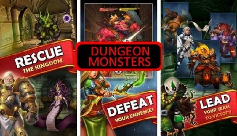 Dungeon Monsters - 3D Azzjoni RPG + MOD