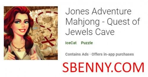 Jones Adventure Mahjong - Квест Пещеры Драгоценностей + MOD