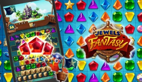 Jewels Fantasy: Quest Temple Match 3 Puzzle + MOD
