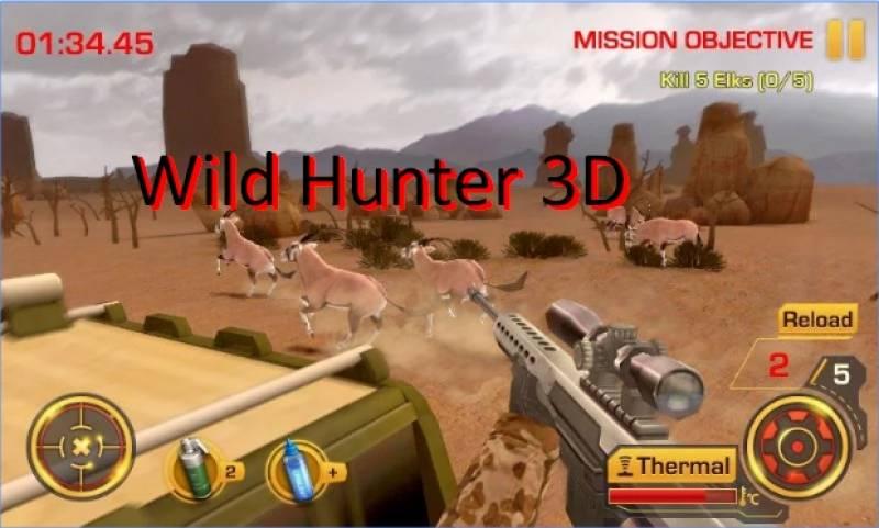 Selvagem Hunter 3D + MOD