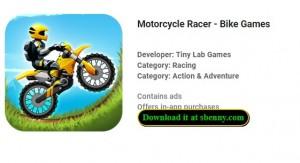 Мотоцикл Racer - Велосипедные игры + MOD