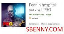 Peur à l'hôpital: survie PRO