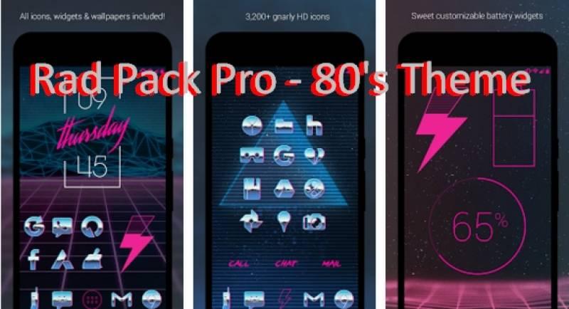 Rad Pack Pro - Тема 80 + MOD