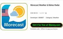 Morecast Wetter & amp; Meteo Radar + MOD