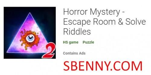 Тайна ужасов - Escape Room & amp; Решить загадки