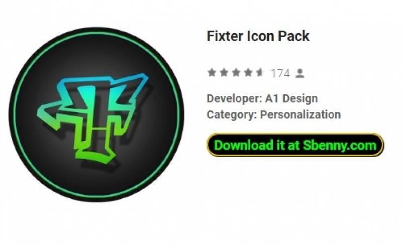 Fixierer-Icon-Paket