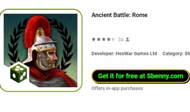 Batalla Antigua: Roma + MOD