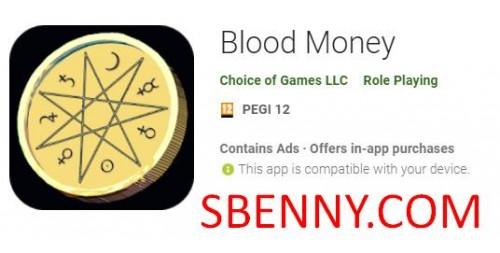 Argent de sang + MOD