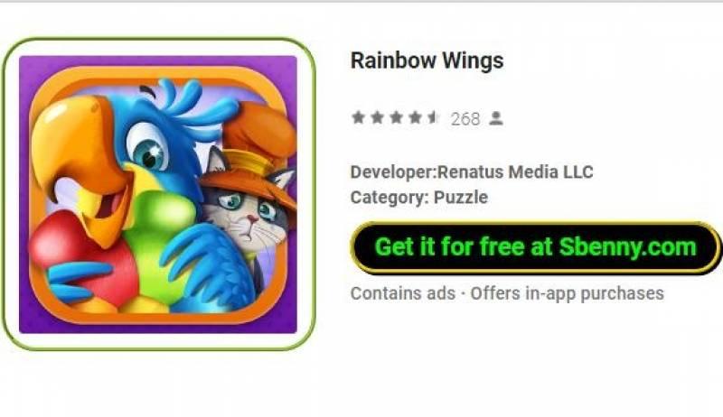Rainbow Wings + MOD
