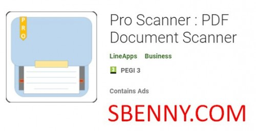 Pro Scanner: PDF Document Scanner