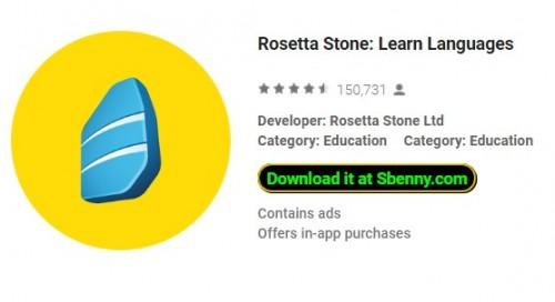 Rosetta Stone: Aprenda idiomas + MOD