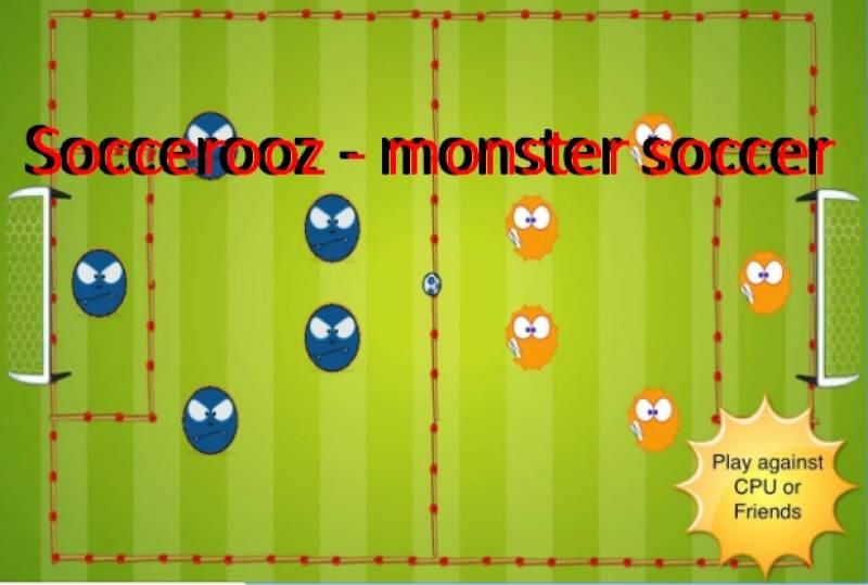 Soccerooz - futebol de monstro