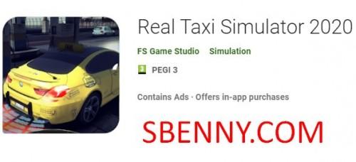 Echtes Taxi Simulator 2020