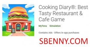 Кулинарный дневник: Best Tasty Restaurant & amp; Кафе Game + MOD
