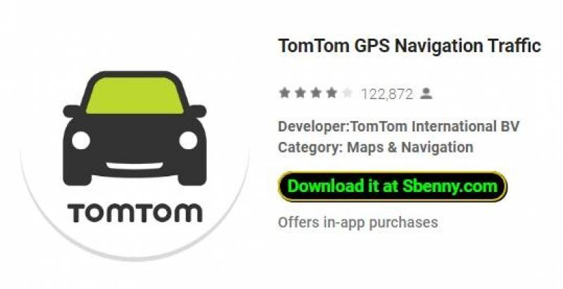 TomTom GPS Traffic Navigation
