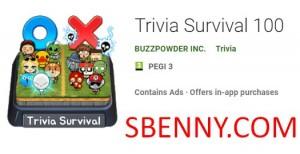 Trivia Survival 100 + MOD