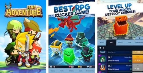 Appuyez sur Adventure Hero: Idle RPG Clicker, Fun Fantasy + MOD