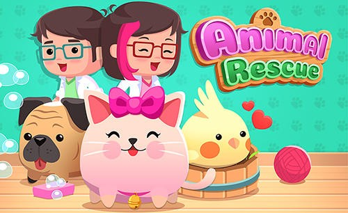 Animal Rescue - Pet Shop e Animal Care Game + MOD