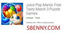 Juice Pop Mania: giochi di puzzle gratuiti 3 + MOD