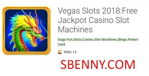 Vegas Slots 2018: Kostenlose Jackpot Casino Slot Machines + MOD
