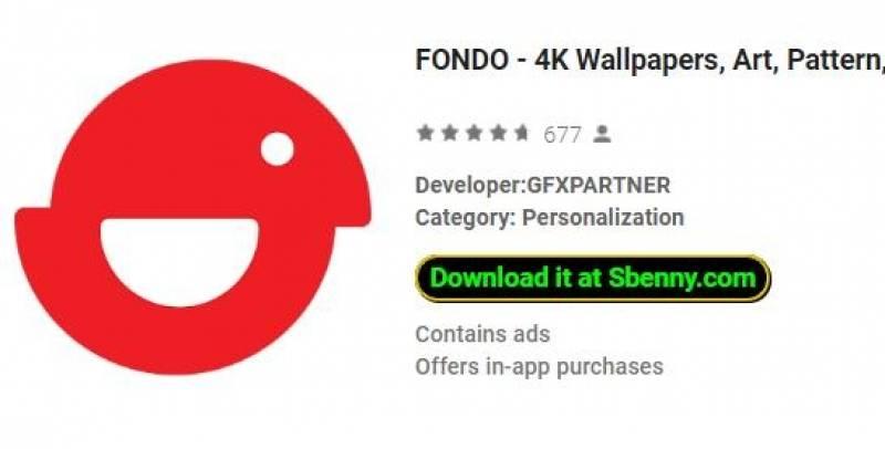 FONDO - Fondos de 4K, arte, patrón, material + MOD
