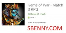 Gems of War - Combina 3 RPG + MOD