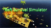 Raft Survival Simulator + MOD