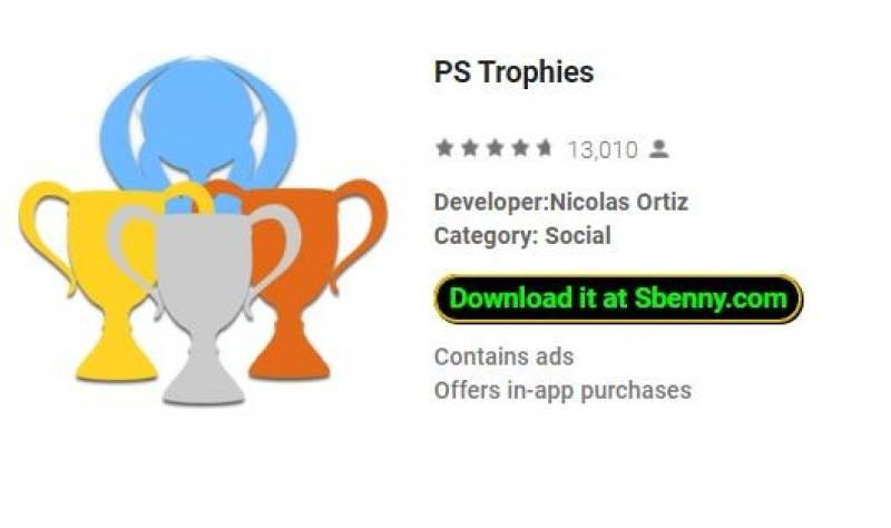 Trophies PS + MOD