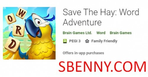 Save The Hay: Word Adventure + MOD