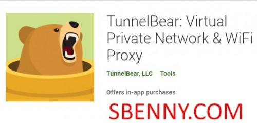 TunnelBear: réseau privé virtuel & amp; Proxy WiFi + MOD