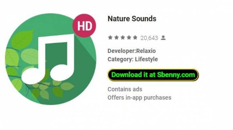 Nature Sounds + MOD