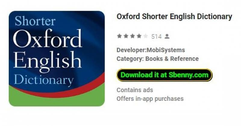 Diccionario Oxford Shorter English + MOD