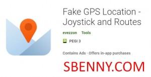 Posizione GPS falsa - Joystick e percorsi + MOD