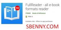 FullReader - Lecteur de tous les formats de livres électroniques + MOD