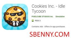 Cookies Inc. - Idle Tycoon + MOD