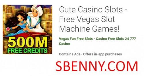 Cute Slots Slots - بازی های اسلات رایگان وگاس! + MOD