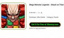 Mega Monster Legends - Angriff auf Titan + MOD