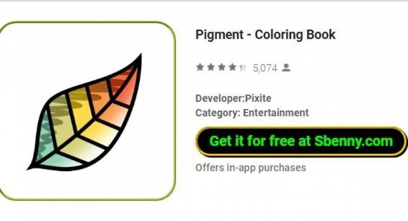 Pigmento - Livro de colorir + MOD