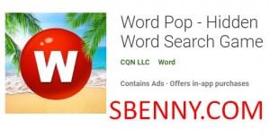 Word Pop - بازی جستجوی کلمات پنهان + MOD