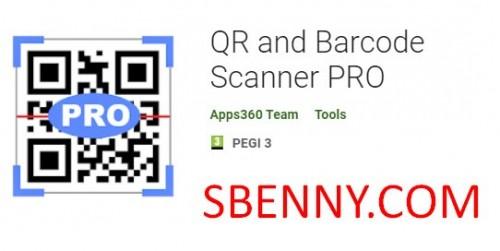 QR и сканер штрих-кода PRO
