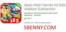 Giochi matematici di base per bambini: addizione sottrazione + MOD