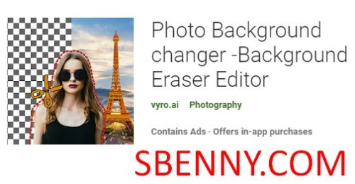 Photo Background Changer -Background Eraser Editor + MOD