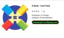 X Zurück - Icon Pack
