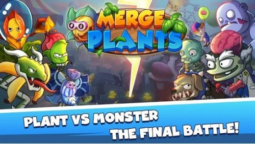Merge Plants: Zombie Defense + MOD